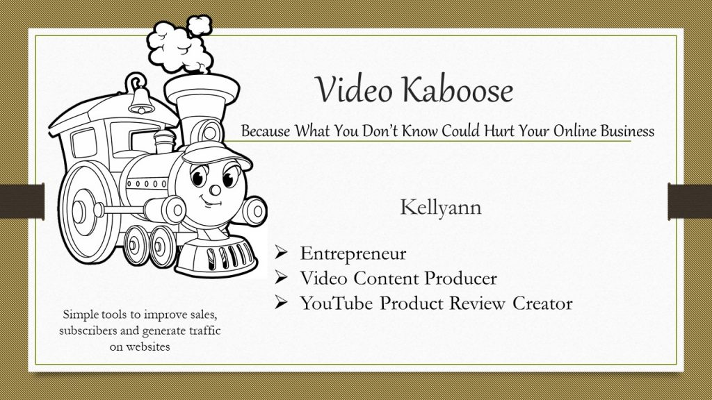 Video Kaboose Business Card